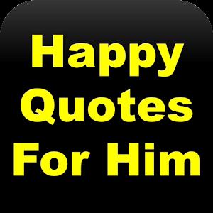 Tải Happy Quotes For Him APK