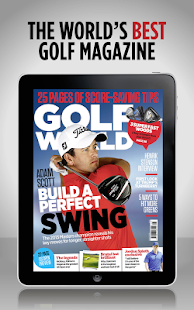 Golf World Magazine - náhled