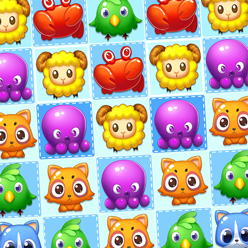 Forest Mania - Pop & Match Lovely Pets
