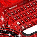 Red Neon Color Keyboard icon
