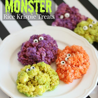 Rice Krispie Treats With Colored Marshmallows Recipes