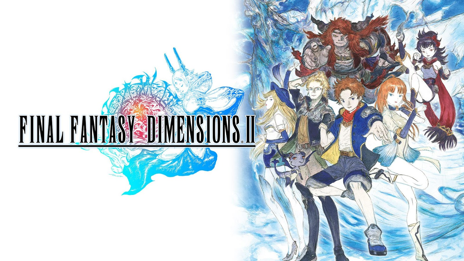 FINAL FANTASY DIMENSIONS II- screenshot