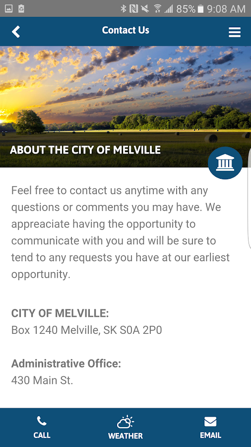 City of Melville- screenshot
