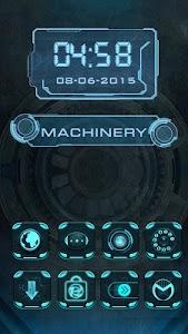 Machinary - eTheme Launcher screenshot 1