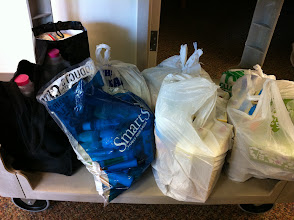 Photo: ...and the samples from all the ladies added another 7 bags!