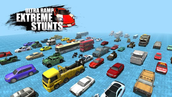 Unlock 100 Stunts - Ultra Ramp Extreme Stunts- screenshot thumbnail