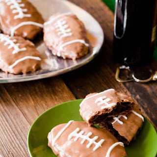 Deep Fried Super Bowl Brownie Hand Pies