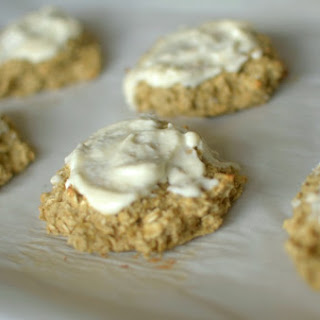 Soft-Baked Banana Maple Oatmeal Cookies