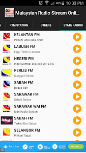 Malaysian Radio Stream Online screenshot 5
