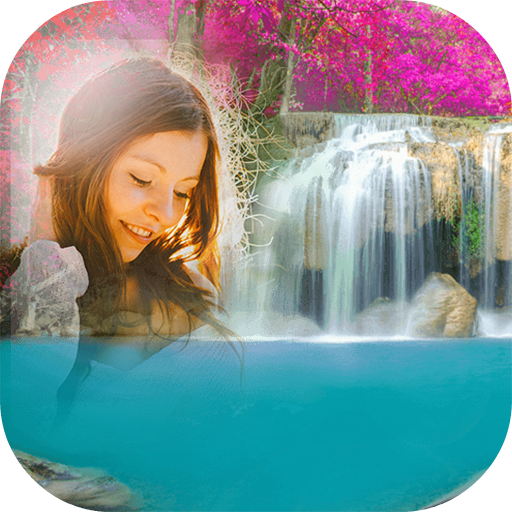Waterfall Frames: Photo Editor, HD Wallpaper Maker Icon