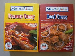 Photo: My friend Yossy shared the information about these astonishing packaged curries she brought from Dorabjee's (https://plus.google.com/100844201782716269754/about?gl=jp&hl=en). Who said Beef Curry is not available in India? Very much there particularly in the states like Goa and Kerala. There is a big Malayalam community in Pune. *Photo courtesy: Yossy 7th April updated (日本語はこちら) -http://jp.asksiddhi.in/daily_detail.php?id=506