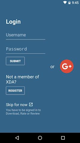 XDA Screenshot