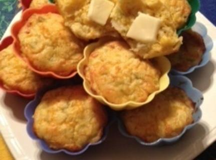 Green Chiles And Whole Corn Muffins Recipe