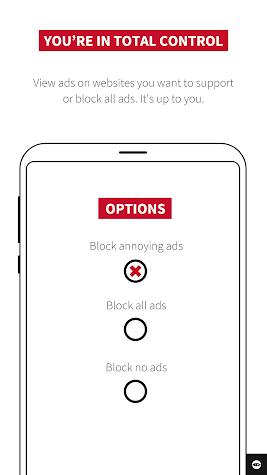 Adblock Plus for Samsung Internet - Browse safe. Screenshot