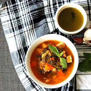 Winter Pistou Soup.