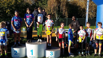 Photo: Rémi P 3 ème ( benjamin ) au cyclo cross de Créteil le 31/10/2015