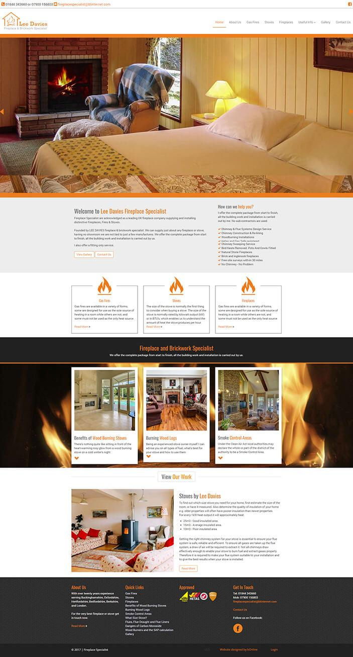 Lee Davies Fireplace specialist