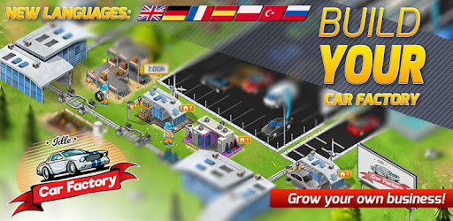 Idle Car Factory: Car Builder, Tycoon Games 2019 - Apps on