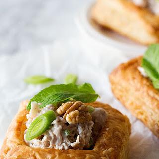 Chicken Walnut Puff Pastry