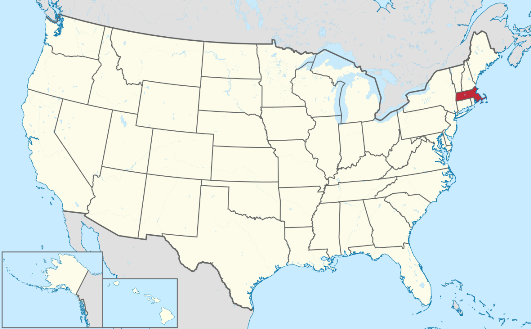 Massachussetts map