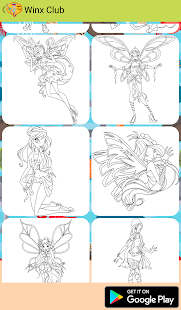 Download Free Winx Coloring Book Cl For PC On Windows And Mac Apk Screenshot 2