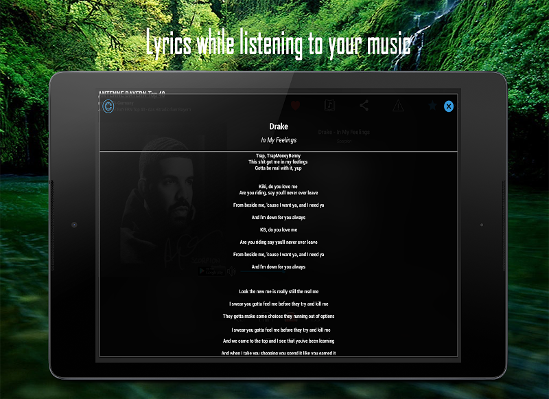 Cloud Radio Pro - Record , Lyrics & Music Screenshot 10