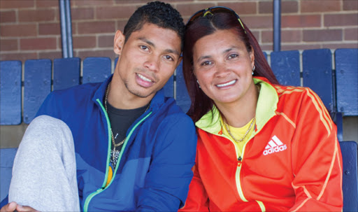 Wayde van Niekerk's mom ready to jump and jive - and he's ready to defend her