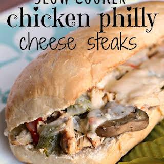 Chicken Philly Cheese Steaks.