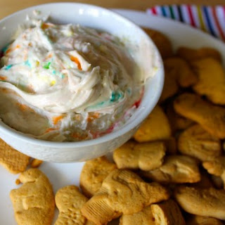 National Animal Crackers Day | Funfetti Dip.