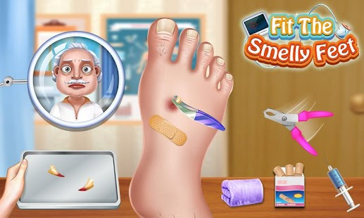 Fit The Smelly Feet Fun Games - náhled