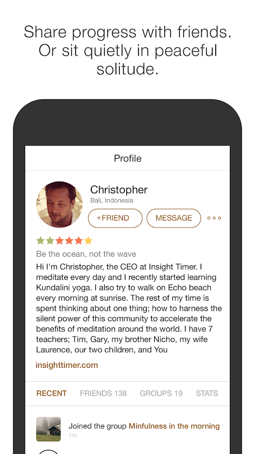 Insight Timer Deluxe- screenshot
