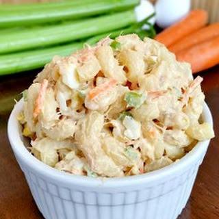 Hawaiian Style Tuna Macaroni Salad