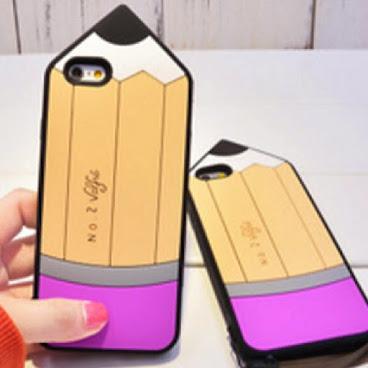 韓國 韓貨 鉛筆手機殻 iPhone case 6/s/plus 手機套 學生