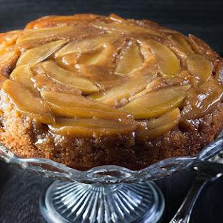 Apple Cinnamon Upside Down Cake.