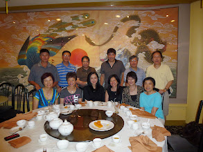 Photo: July 6 dinner at Sam Wo restaurant in Scarborough. Eric Ah Yin and wife Linda joined in. Sam Wo has been in business for 23 years. Sadly it willbe closedby the end of July.