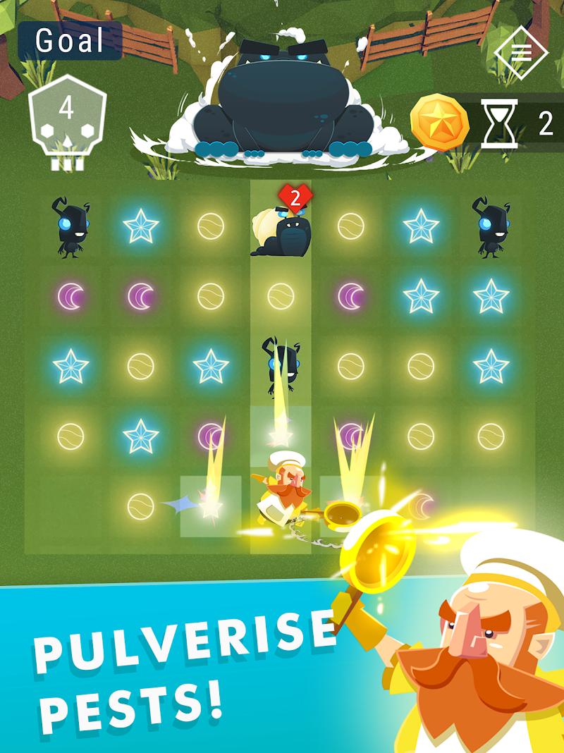 Starbeard - Intergalactic Roguelike puzzle game Screenshot 9
