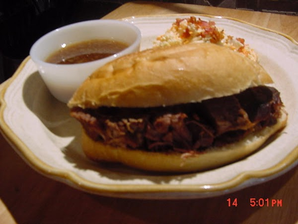 This is a superb recipe for French dip sandwiches or whatever your creative mind...