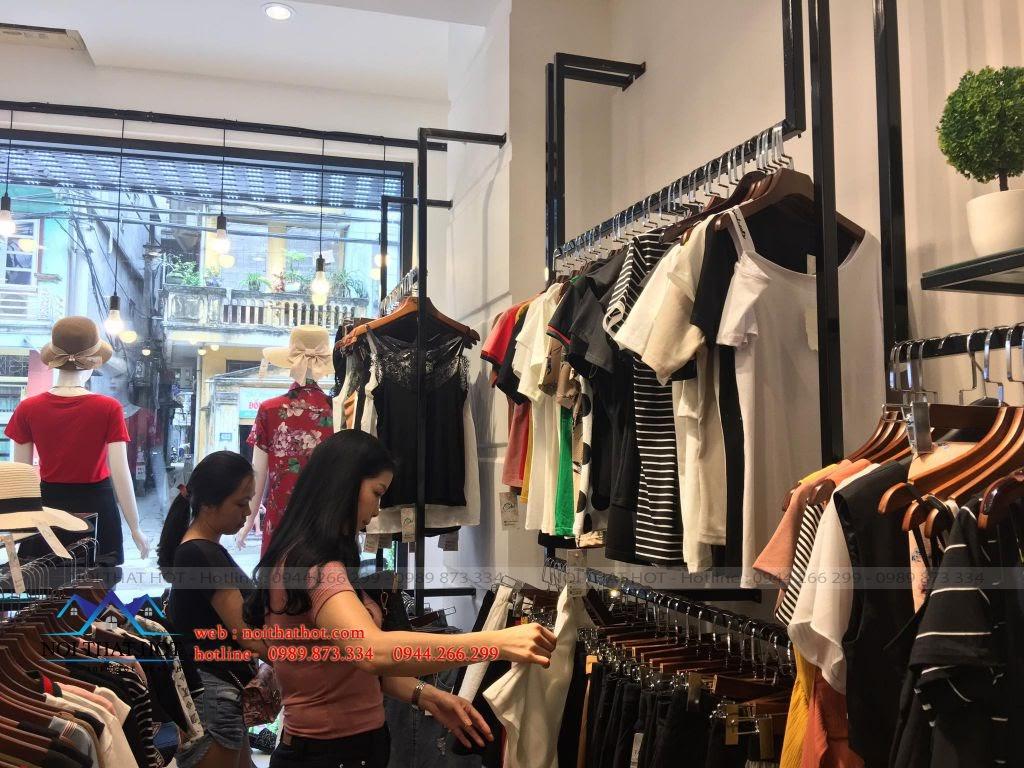 thi công nội thất shop thời trang diện tích nhỏ