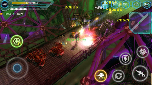 Alien Zone Raid screenshots 1