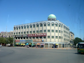 Photo: This was the one building in Turpan proper that I remembered from 8 years ago.