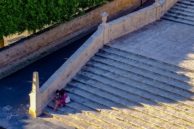 Sui gradini della cattedrale di AngeloEsse