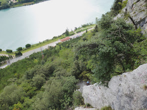 Photo: Riprendiamo il filo su una roccia spettacolare