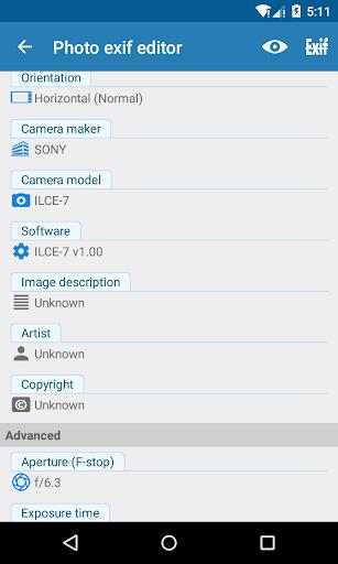 Photo Exif Editor - Metadata Editor 2.2.9 screenshots 5