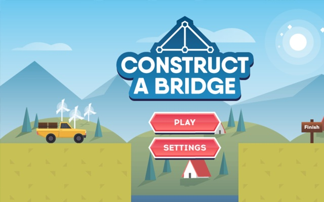 Construct A bridge Game