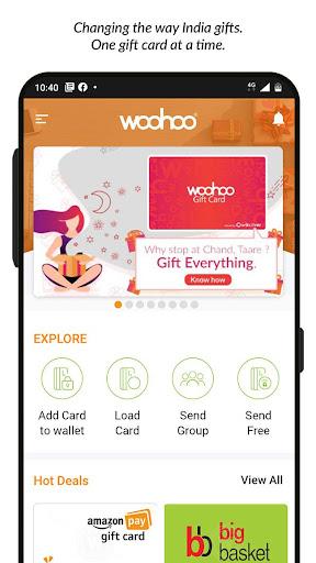Woohoo - Digital Gift Cards  Screenshots 1