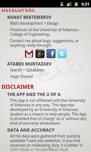 Univers Of Arkansas Campus Map Apk Download Apkpure Co