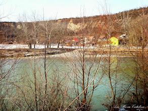 Photo: Valea Sarata la varsare in Raul Aries - vedere de pe dig - 2009.02.21