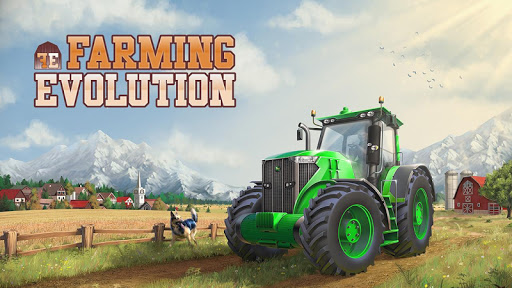 Farming Evolution – Tractor poster