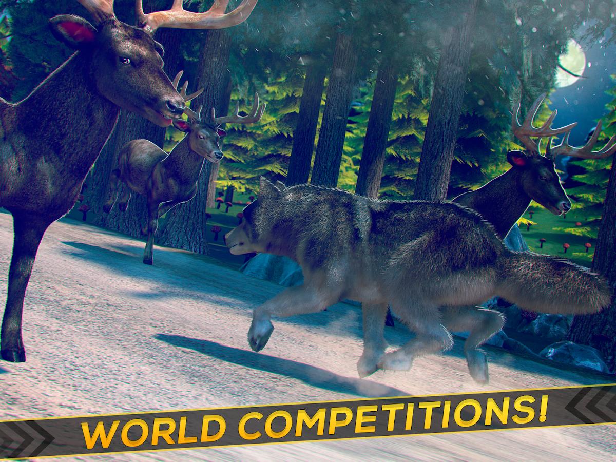 wild wolf games online