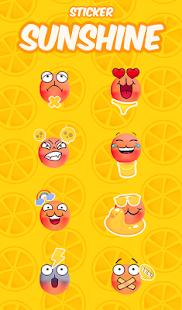 Sunshine FREE Keyboard Sticker - náhled